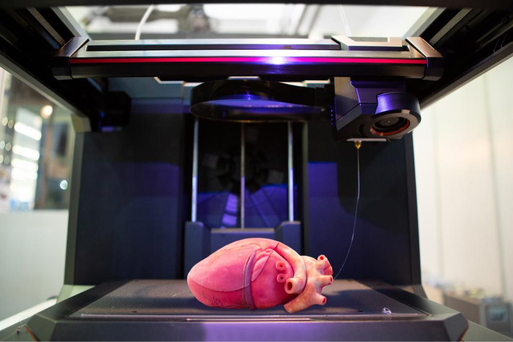 Cientistas constroem coração utilizando técnica de impressão 3D